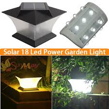 Solar Fence Lighting by Online Get Cheap Fence Post Solar Light Caps Aliexpress Com