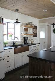 our copper sink black granite countertops black granite and