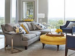 grey and yellow living room design u2013 modern house