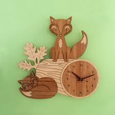 Unique Desk Clocks by Woodland Nursery Decor Grand Babies Stepson Pinterest