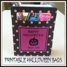 Printable Halloween Bags Pamela Renee Designs August 2013