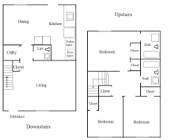 Two Bedroom Apartment Floor Plans Apartment Floor Plans Bedroom And Bedroom Apartment