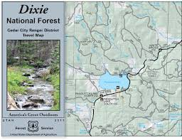 Lake Powell Map Dixie National Forest Maps U0026 Publications