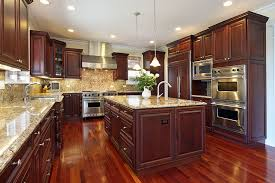 cherry cabinets in kitchen download wood floors in kitchen with wood cabinets gen4congress com
