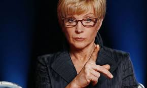 Anne Robinson denied reports that she was leaving because BBC had decided to cut her payment. Photograph: BBC - Anne-Robinson-on-the-Weak-007