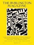 Burlington Magazine issue cover