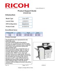 ricoh aficio mp c4502a specifications