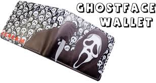 ghost face mask military ghostface scream wallet review youtube