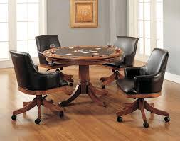 Swivel Dining Room Chairs Kitchen Room Minimalist Mid Century Classic Round Kitchen Table