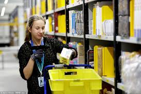 black friday amazon duration amazon u0027s warehouse prepares for black friday orders daily mail