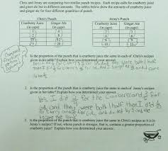Two Way Tables Worksheet Party Punch Compare Ratios Students Are Asked To Compare Ratios