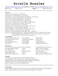 sample of special skills in resume special skills for dance resume free resume example and writing dance resume examples independent dance instructor organizer resume samples dance instructor resume template vosvetenet dance teacher