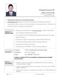 sample assistant principal resume sample resume pdf for engineer dalarcon com 5 good electrical engineering cv format invoice template download