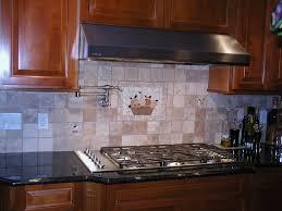 Metal Kitchen Backsplash Tiles Kitchen Backsplash Tile With White Cabinets Wooden Laminated