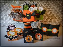 it u0027s written on the wall lots of halloween treat boxes for party