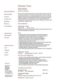 Sample Babysitter Resume by Hair Stylist Resume Example Sample Trimming Cutting Beards