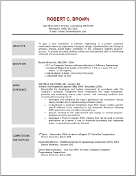 Sample Resume Objectives When Changing Careers by A Good Job Resume Objective How To Write Line Splixioo