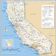 Map Of Northeast United States by Reference Map Of California Usa Nations Online Project