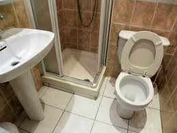bathroom decorating using brown marble travertine tile bathroom