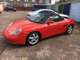 now back for sale porsche boxster 2 5 manual 1999 in exmouth