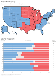 Us Circuit Court Map Obama U0027s Judges Leave Liberal Imprint On U S Law
