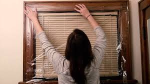 how to put plastic on your windows with window sills how to do