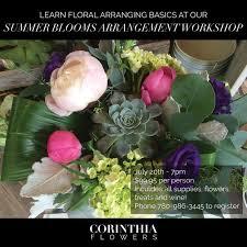 Floral Arrangement Supplies by Workshops Corinthia Flowers Florist In Leduc Alberta