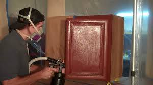 How To Paint Kitchen Cabinets Like A Pro Refinishing Kitchen Cabinets Youtube