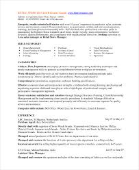 Area Sales Manager Resume Sample by 8 Retail Manager Resumes Free Sample Example Format Free