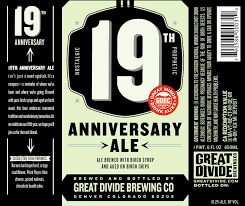 New Release: Great Divide 19th Anniversary Ale | BeerAdvocate