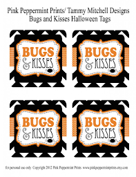 printable halloween banner freebie free bugs and kisses halloween treat tags