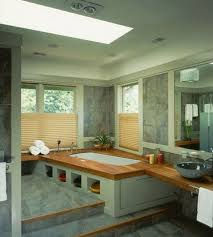 Spa Bathroom Design Ideas Bathroom 2017 Restful Spa Bathroom With Corner Drop In Bathtub