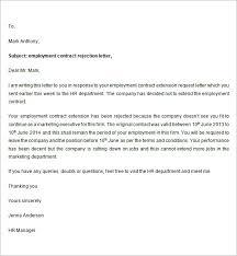 Employee Termination Letter Template  employee letter  employee