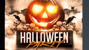 free halloween invite templates halloween party flyer template free for photoshope youtube