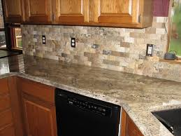 Kitchen Cabinets Long Island by Kitchen Light Gray Backsplash Tile Black Countertops Kitchen