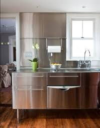 Used Kitchen Island Contemporary Kitchen Ideas With Stainless Steel Kitchen Island