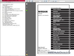 nissan pickup d22 series repair manual order u0026 download