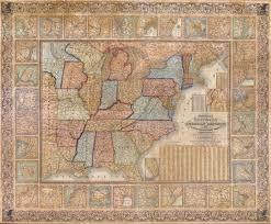 Map Of The Usa by 1845 Map Of The Usa 1794 Map Of The World