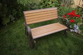 Best Wood Patio Furniture - amazon com lifetime 60055 glider bench 4 feet faux wood