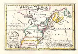 The Map Of The United States Of America by 1790 To 94 Pennsylvania Maps