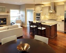 Decorating An Open Floor Plan Classy Inspiration Kitchen Design Open Floor Plan Designs On Home
