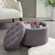 Large Storage Ottoman Coffee Table by Furniture Blue Storage Ottoman Leather Tufted Ottoman Navy