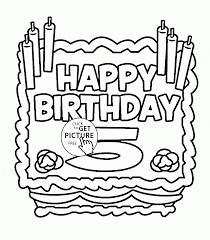 birthday birthday cards coloring pages