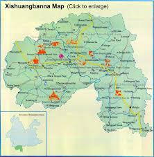 Map Of China Provinces Maps Of Yunnan Province China