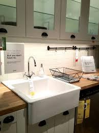 cabinets u0026 drawer farmhouse white porcelain tile in kitchen sink