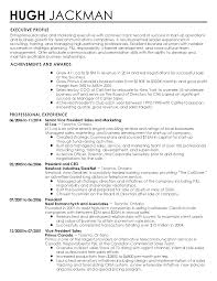 Professional Profile On Resume Formalbeauteous Senior Resume Cv Cover Letter Executive Template