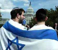 american jews in israeli flag