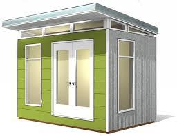 Backyard Office Prefab by Best 25 Modern Shed Ideas On Pinterest Prefab Pool House
