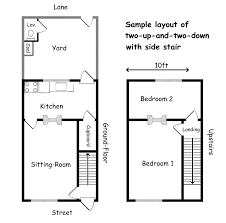 small floorplans stairs floor plan pleasant design 14 spinners end of small house