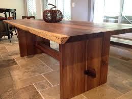 slab wood dining table u2013 rhawker design